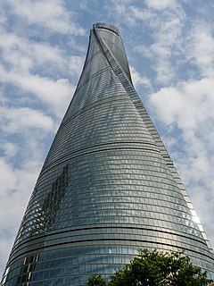 Shanghai Tower (maj 2015)