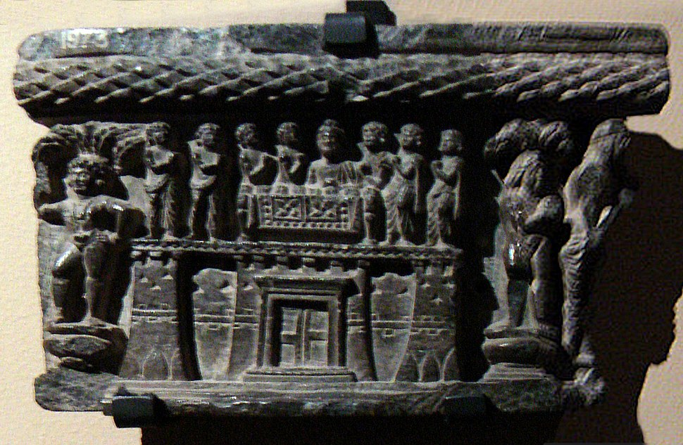 Sharing of relics and Gandhara fortified city