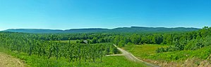 Shawangunk Ridge - Shawangunk Ridge from south of New Paltz