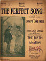 "Sheet music for ""The Perfect Song"" from The Birth of a Nation.jpg"