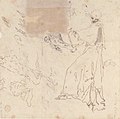 Sheet of Studies- Five Angels (recto); Youth in Clerical Robes and Other Studies (verso) MET 80.3.363 VERSO.jpg