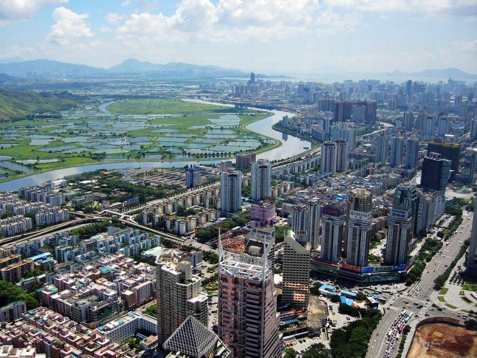 Shenzhen CBD and River
