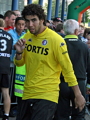Sherif Ekramy - Ekramy with Feyenoord in 2007