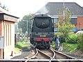 Sheringham Station, NNR. Steam Train - geograph.org.uk - 120136.jpg