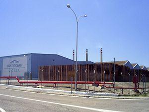 Saint-Gobain - Saint-Gobain sherry bottle factory at Jerez, Andalusia (Spain)