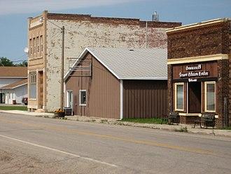 Sheyenne, North Dakota - Looking north on Highway 281 in Sheyenne