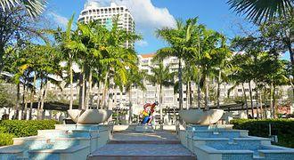 Midtown Miami - Promenade within the Shops at Midtown Miami, February 2011.