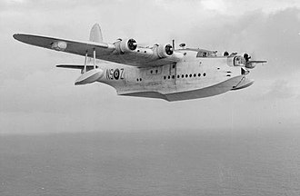 Maritime patrol aircraft - British Short Sunderland maritime reconnaissance flying boat