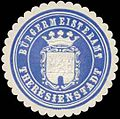 Siegelmarke Bürgermeisteramt Theresienstadt W0318488.jpg