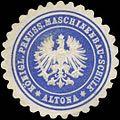Siegelmarke Königl. Preuss. Maschinenbau-Schule Altona W0334861.jpg