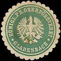 Siegelmarke Königlich Preussische Oberförsterei - Gladenbach W0262761.jpg