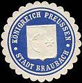 Siegelmarke Königreich Preussen - Stadt Braubach W0235299.jpg