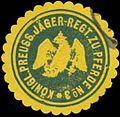 Siegelmarke K.Pr. Jäger-Regiment zu Pferde No. 3 W0363865.jpg