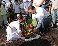 Siembra del Primer arbol de Cacao del proyecto Maya Biosana 02.jpg