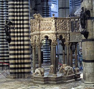Siena Cathedral Pulpit - Siena Cathedral Pulpit