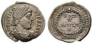 Siliqua - Jovian siliqua, c. 363