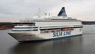 Cruiseferry - Image: Silja Europa 2005