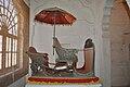Silver Hathi Howdah in Mehrangarh Fort Museum 01.jpg