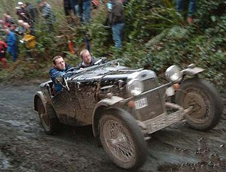 Classic trials - 1954 HRG Volvo on the MCC Exeter 2004 Trial.