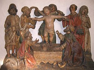 Simon of Trent - School of Niklaus Weckmann, Martyrdom of Saint Simonino