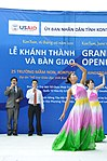 Singers and dancers perform at a kindergarten hand-over ceremony in Kon Tum. (5839486719).jpg
