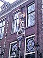 Sint Michael and the Dragon, Herengracht 579-581, Amsterdam.JPG
