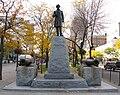 Sir John A Macdonald statue in Gore Park, Hamilton, Ontario.jpg