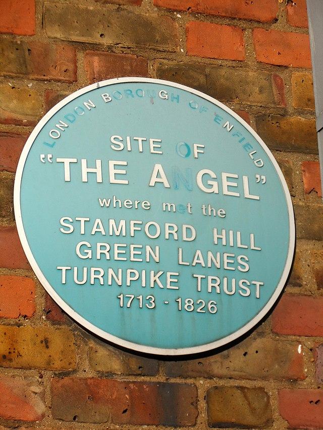 Blue plaque № 6424 - Site of