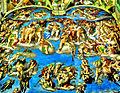 Sixtinische Kapelle, Das Jüngste Gericht, Michelangelo (Buonarroti) (8554483658).jpg