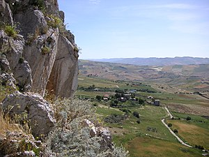 Province of Caltanissetta - Landscape at Mussomeli.