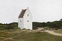 Skagen, the sand-driven church of Sct Lawrence (11852832924).jpg
