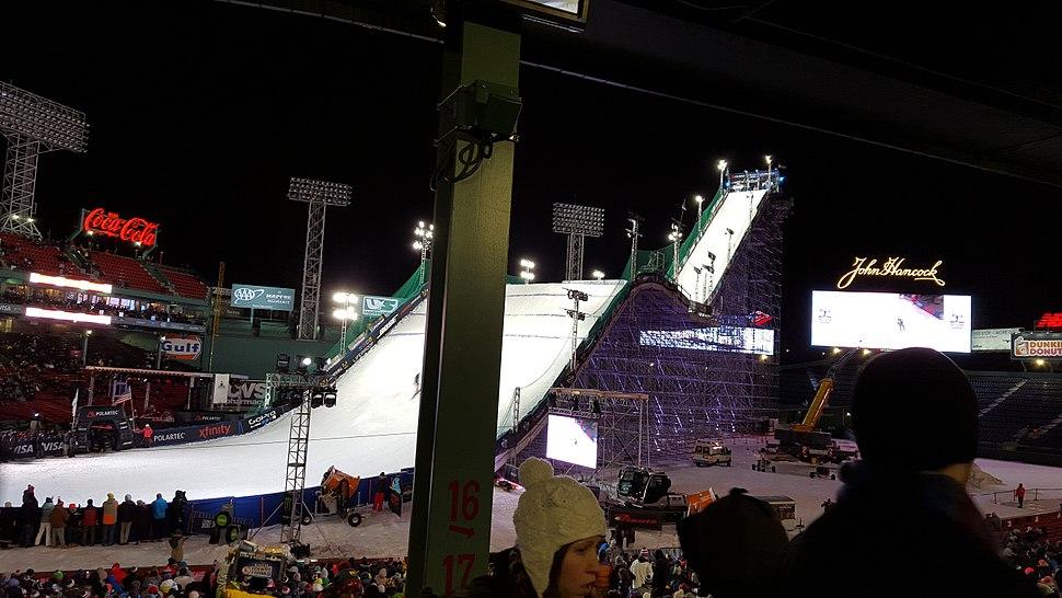Ski Jump Fenway Park Boston