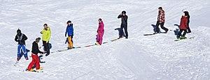 Ski school - Ski lesson