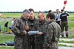 Skoczkowie na starcie spadochronowym, Gliwice 2010.06.13 (02).jpg