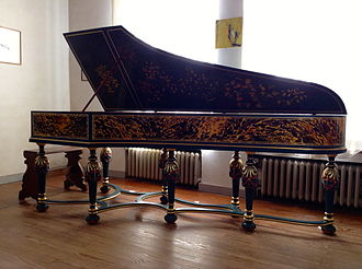 Martin Skowroneck - Harpsichord after Christian Zell (1728) built by Skowroneck in 1976