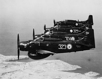 Fairey Gannet AEW.3 - The Douglas Skyraider had been in service since the early 1950s, but was rapidly becoming obsolete