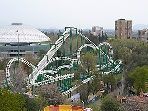 O'Higgins Park - Amusement park Fantasilandia, located in one of the corners of Parque O'Higgins.