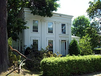 National Register of Historic Places listings in Chautauqua County, New York - Image: Smith Bly House Jul 12