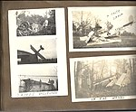 Snapshots of crashed aircraft in and around Camp Mohawk, one of the Royal Flying Corps' pilot training camps near Deseronto, Ontario. Includes aircraft with numbers C271, C650 and 596. One aircraft is (6079349357).jpg