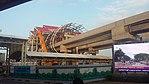 Soekarno-Hatta skytrain construction 1.jpg