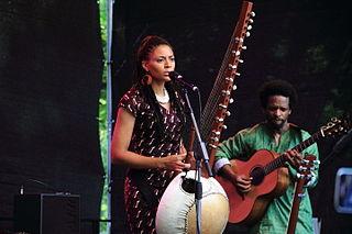 Sona Jobarteh Gambian musician