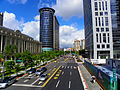 Songgao Road and CPC Head Office Building 20100808.jpg
