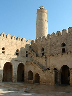Siege of Melite (870) - The castle of Sousse, Tunisia, which incorporates marble looted from Melite's churches