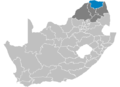 South Africa Districts showing Vhembe.png