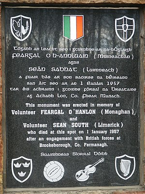 Fergal O'Hanlon - Image: South and ohanlon