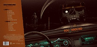 Southbound (2015 film) - Mondo's limited edition Southbound album cover.