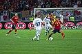 Spain - Chile - 10-09-2013 - Geneva - Andres Iniesta, Gary Medel and Pedro Rodriguez.jpg
