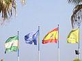 Spanische Flagge Torremolinos (5).JPG