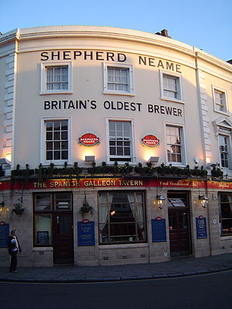Shepherd Neame Brewery - The Spanish Galleon Tavern in Greenwich