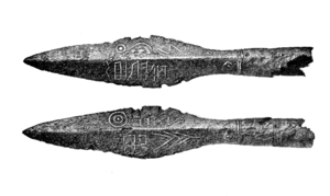 Gothic runic inscriptions - The spearhead of Kovel